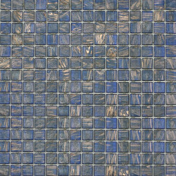 Стеклянная мозаика - 63GA - 327*327 мм