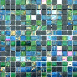 Стеклянная мозаика - 2855-V - 327*327 мм