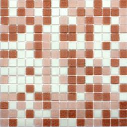 Стеклянная мозаика - 58B56B10A - 327*327 мм