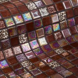 Стеклянная мозаика - Choco Bits - 313*495 мм