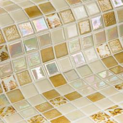 Стеклянная мозаика - Leaves - 313*495 мм
