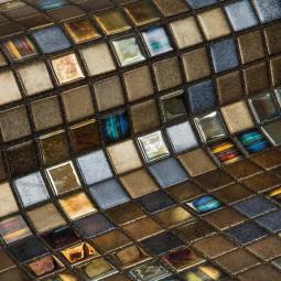 Стеклянная мозаика - Pecans - 313*495 мм