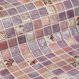 Стеклянная мозаика - Violet - 313*495 мм