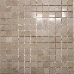 Мраморная мозаика - МБ-пб-23 - 300*300 мм