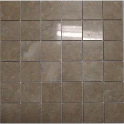 Мраморная мозаика - МБ-пб-48 - 300*300 мм