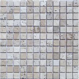 Мозаика из травертина - ТБ-сб-23 - 300*300 мм