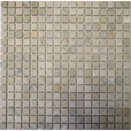 Мраморная мозаика - МГ-пб-15 - 285*285 мм