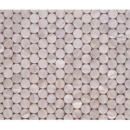 Мозаика из ракушек - P04 - 307*287 мм