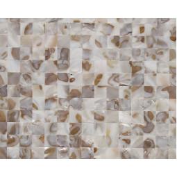 Мозаика из ракушек - P07 - 300*300 мм