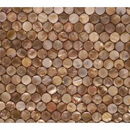 Мозаика из ракушек - P53 - 300*300 мм