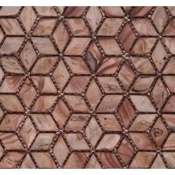 Мозаика из ракушек - P01 - 242*280 мм