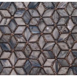 Мозаика из ракушек - P02 - 242*280 мм