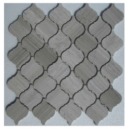 Керамическая мозаика - Arabesco White Wooden - 295*305 мм
