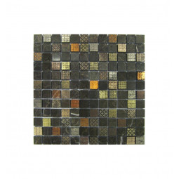 Мраморная мозаика - Precious 17 - 305*305 мм