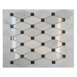 Мраморная мозаика - Diamond 001 - 340*295 мм