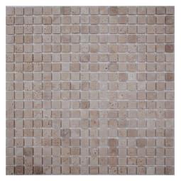 Мозаика из травертина - Light Travertine 15-4T - 305*305 мм