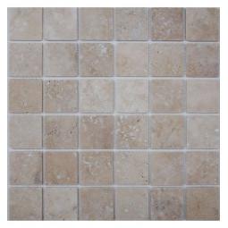 Мозаика из травертина - Light Travertine 48-4T - 305*305 мм
