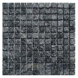 Мозаика из сланца - Shiny Black 23 - 300*300 мм