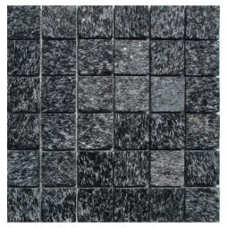 Мозаика из сланца - Shiny Black 48 - 300*300 мм
