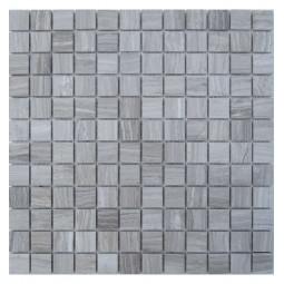 Мраморная мозаика - White Wooden 23-4P - 300*300 мм