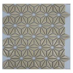Керамическая мозаика - Flowers Beige - 290*300 мм