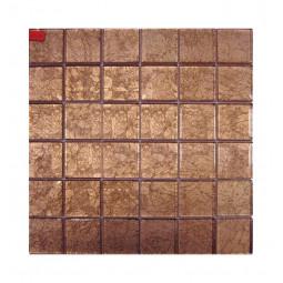 Стеклянная фольгированная мозаика - HD632 - 300*300 мм