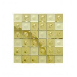 Зеркальная мозаика - Gold-M Round - 300*300 мм