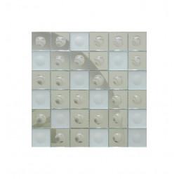 Зеркальная мозаика - Silver-M Round - 300*300 мм