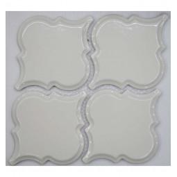 Керамическая мозаика - Porcelain Arabesko Bevel Beige 160 - 218*218 мм