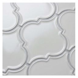 Керамическая мозаика - Porcelain Arabesko Plate Beige 160 - 218*218 мм