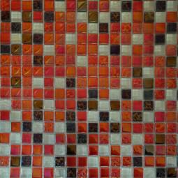 Мозаика из камня и стекла DGS016 - 300*300 мм