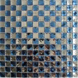 Стеклянная мозаика со стразами