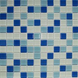 Стеклянная мозаика FA021.025.080B - 300*300 мм