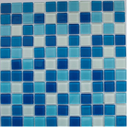 Стеклянная мозаика FA022.023.025.080 - 300*300 мм