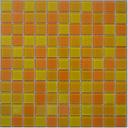 Стеклянная мозаика FA041.043.045 - 300*300 мм