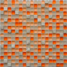 Мозаика из камня и стекла GS076 - 300*300 мм