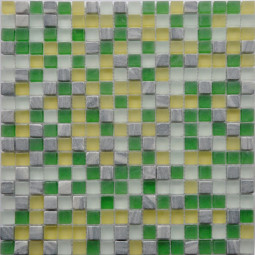 Мозаика из камня и стекла GS084 - 300*300 мм