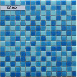 Стеклянная мозаика KG302 (на сетке) - 305*305 мм