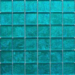 Стеклянная фольгированная мозаика