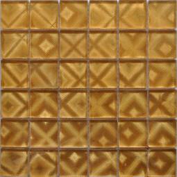 Стеклянная фольгированная мозаика ST062 - 300*300 мм