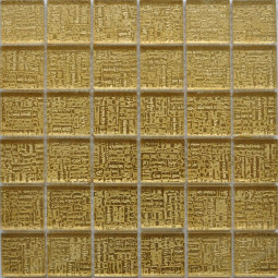 Стеклянная фольгированная мозаика ST068 - 300*300 мм