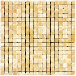 Мраморная мозаика - M073-15P (Ony* Yellow) - 305*305 мм