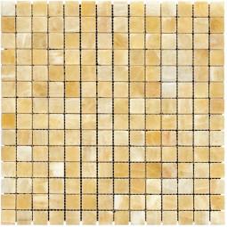 Мраморная мозаика - M073-20P (Ony* Yellow) - 305*305 мм