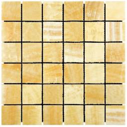 Мраморная мозаика - M073-48P (Ony* Yellow) - 305*305 мм