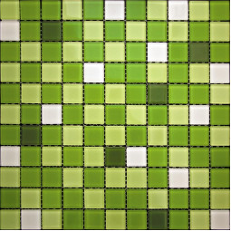 Стеклянная мозаика - CPM-09 - 300*300 мм