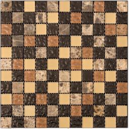 Мозаика из камня и стекла