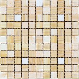 Мозаика из камня и стекла - MSD-429 - 300*300 мм