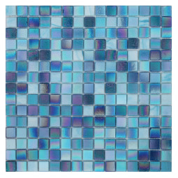 Стеклянная мозаика - Parad Blue - 327*327 мм