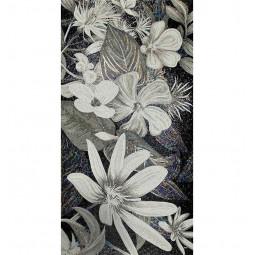 Flower in Black FLO4B&W панно из стеклянной мозаики