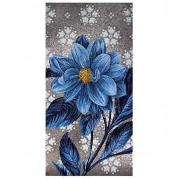 Blue Flower PL101 FLO8C панно из стеклянной мозаики